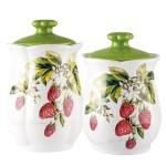 Keramika FLORINA GARDEN nabízí různé tvary nádobí včetně konvičky na přípravu čaje.