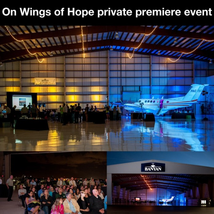 On Wings of Hope premieres at private screening