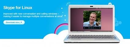 Skype renueva su versión para Linux