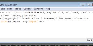 PyGobject y GTK+ 3 instalados correctamente