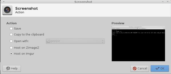 Xfce Screenshoter