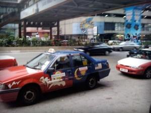 Malaysia Hero Olivier Dressen Taxi in Kuala Lumpur