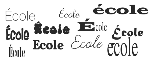 Test of Typography