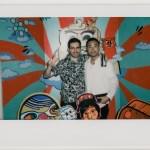 Polaroid Fuji Tomer Joel from Amber Lounge in Shanghai