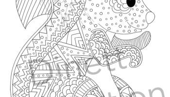 coloriage danimaux lcureuil - Coloriage D Animaux Imprimer