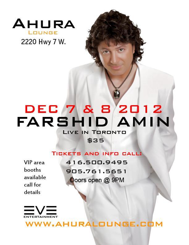 farshid amin persian concert toronto