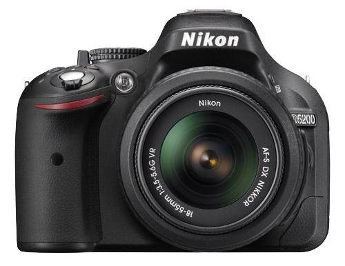 Nikon D5200 dslr 39 point autofocus AF