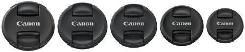 Canon lens cap center centre pinch new