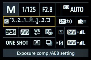 Canon 7D Mark II Manual Mode exposure compensation Auto ISO tips tricks how to use set up setting