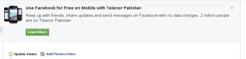 Use Facebook for Free on Telenor