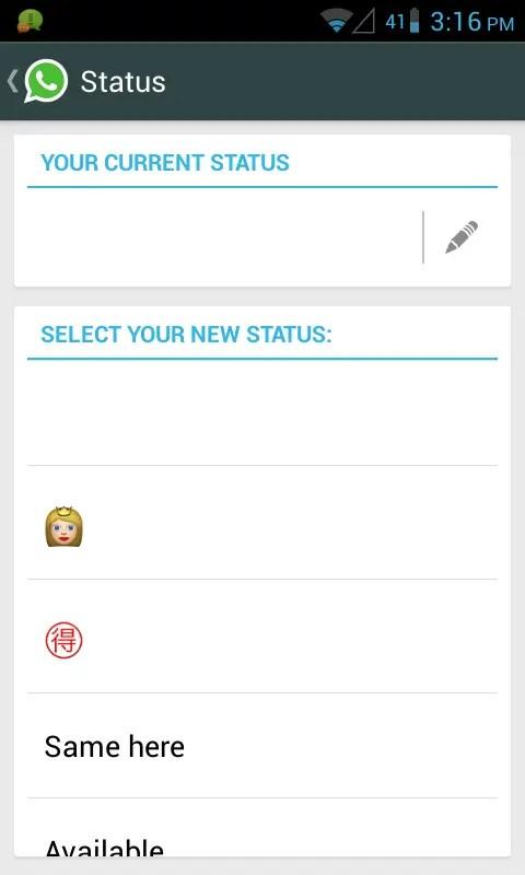 Send Blank Message and Blank Status on WhatsApp