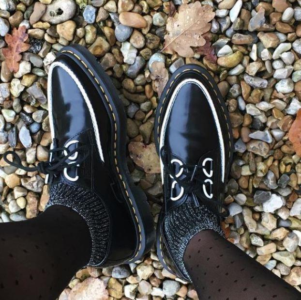 The Belladonna creeper shoe. Photo by @charlotte_eliz.