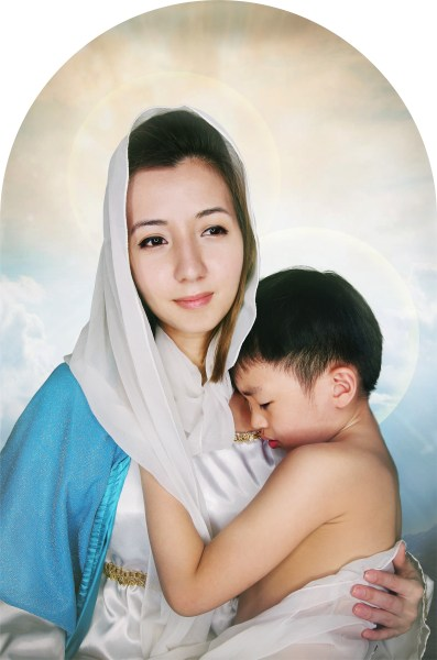 Madonna And Child (2015) by Eugene Soh
