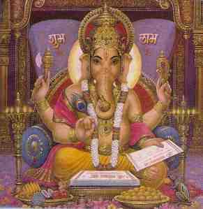 ganesha authors the vedas