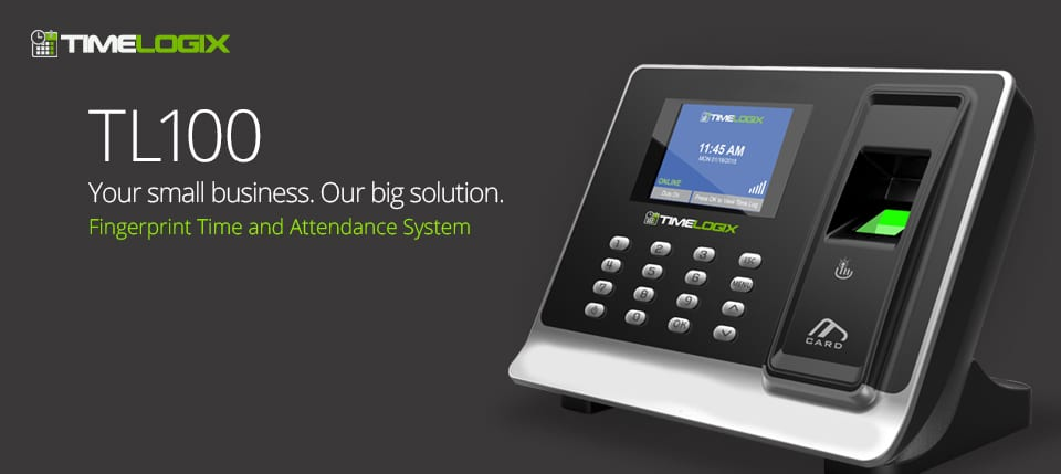TL100 Time-Logix Time Clock