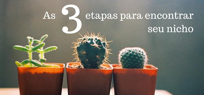 As 3 etapas para encontrar seu nicho de vendas b2b