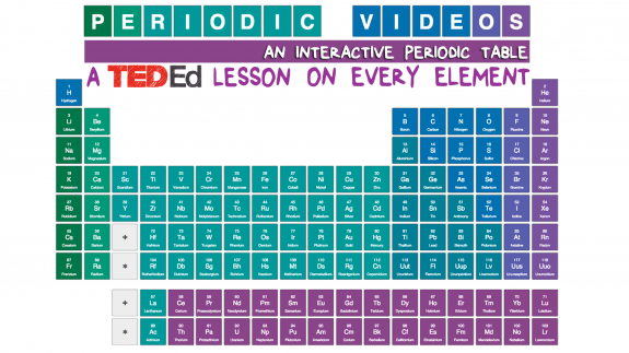 Ted Ed Launches An Interactive Periodic Table With A Video For Every