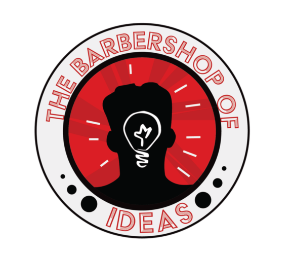 Barbershop of Ideas logo. Credit: Amir Khadar.