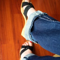 IN HER SHOES: Thrifty Decor Chick