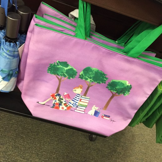illustrated totes