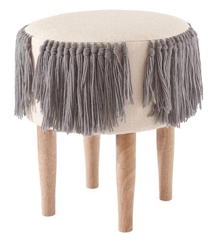 fringe stool