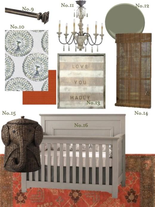 masculine nursery design