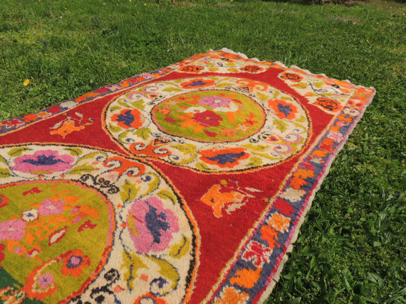 etsy turkish rugs