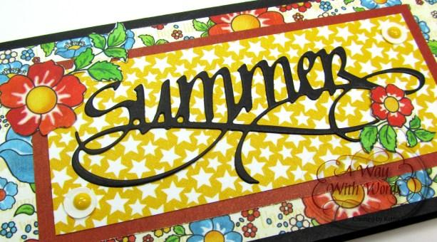Elizabeth Craft Designs Suzanne Cannon Summer Graphic 45 mini album summer Mother Goose Kathy Jo Wood