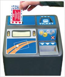 Nameless new STM fare/transfer card
