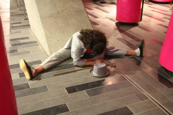 Guy on floor