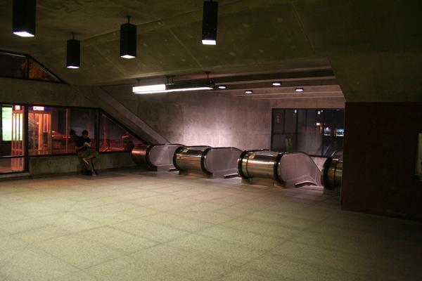 After: Escalators