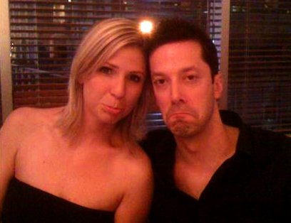 Chantal Desjardins and Mark Bergman put on their sad faces in announcing they're splitting up on Twitter