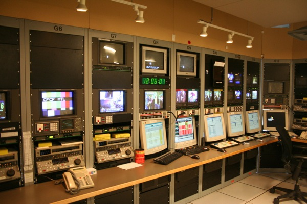 """The """"Feed and Play"""" room at CTV Montreal is getting an upgrade as HD equipment is installed."""