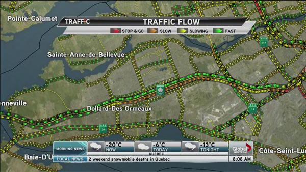 Global Morning News Traffic
