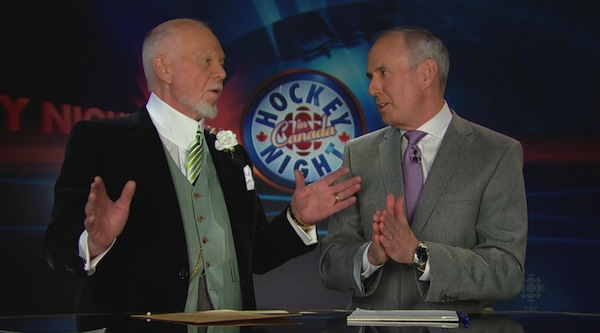 Don Cherry and Ron MacLean 4