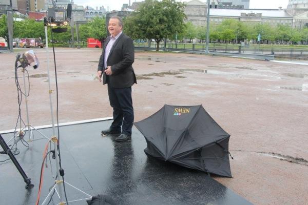 CTV Lori umbrella broken
