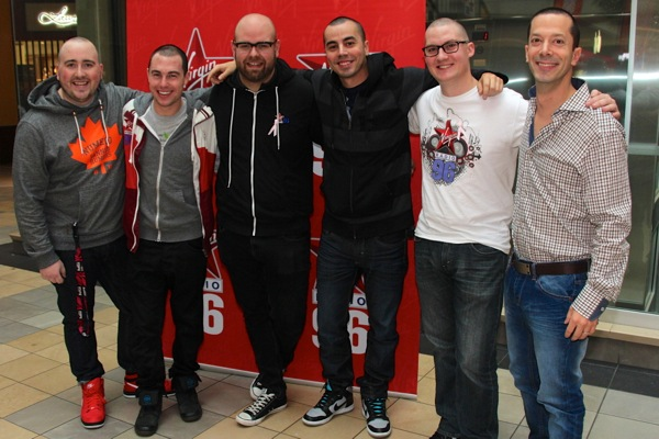 Virgin Radio staff who shaved their heads for the cause.