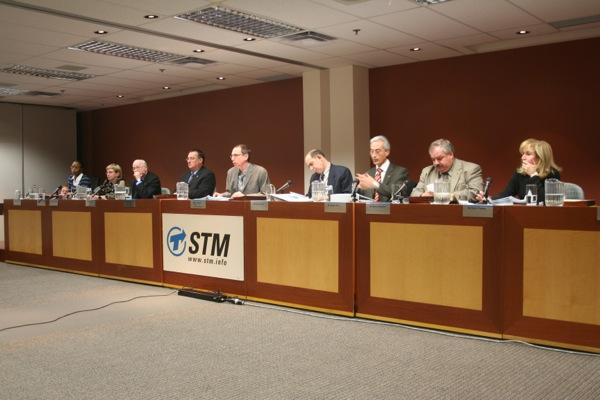STM board of directors: politicians and failed politicians