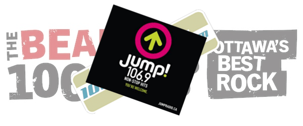 """The Bear was rumoured to become Fresh FM 106.9 but has instead relaunched as Jump! with the tag line """"non-stop hits"""""""