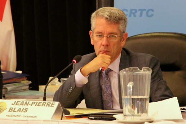 CRTC chairman Jean-Pierre Blais has had to answer for decisions that the CRTC hasn't made or positions it hasn't proposed.