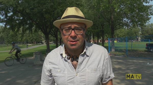 Street Speaks host Paul Shore