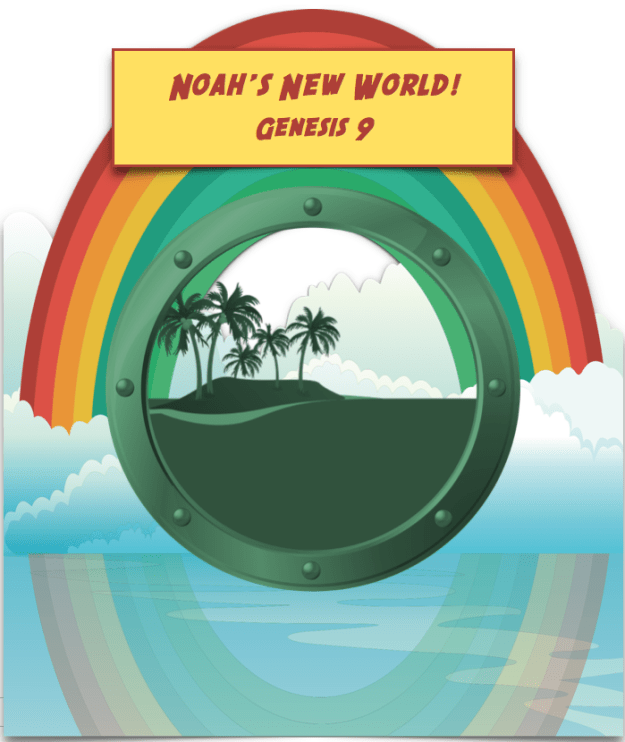 Noah's new world title page