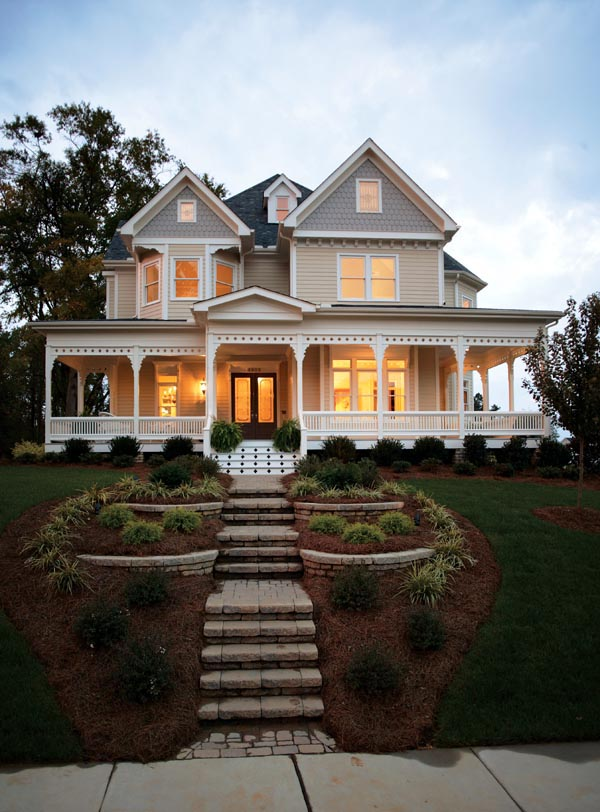 Victorian Farmhouse Plan Family Home Plans Blog