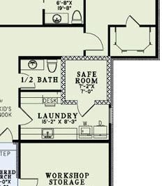 82239 safe room1?resize=188%2C213 house plans with safe rooms family home plans blog,Safe House Plans
