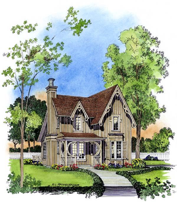 Fancy victorian cottage plans family home plans blog for Bungalow floor plans historic