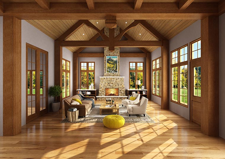 New Luxury Craftsman House Plan Family Home Plans Blog