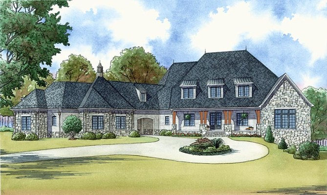 New Luxury Craftsman House Plans