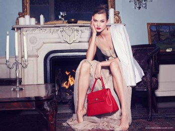 Karlie Kloss for Lancaster Paris Holiday 2014 (8)