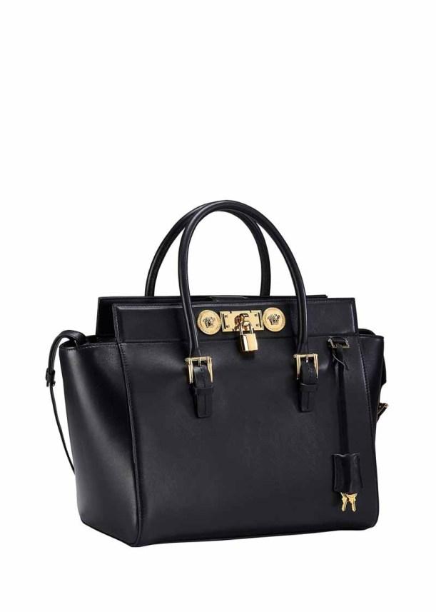 Versace Signature Lock Bag