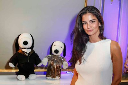 BERLIN, GERMANY - JULY 08: Shermine Sharivar attends the Snoopy & Belle Vernissage at Mercedes-Benz Fashion Week Berlin Spring/Summer 2016 at Ermelerhaus on July 08, 2015 in Berlin, Germany. (Photo by Franziska Krug/Getty Images for SBIFBERLIN)